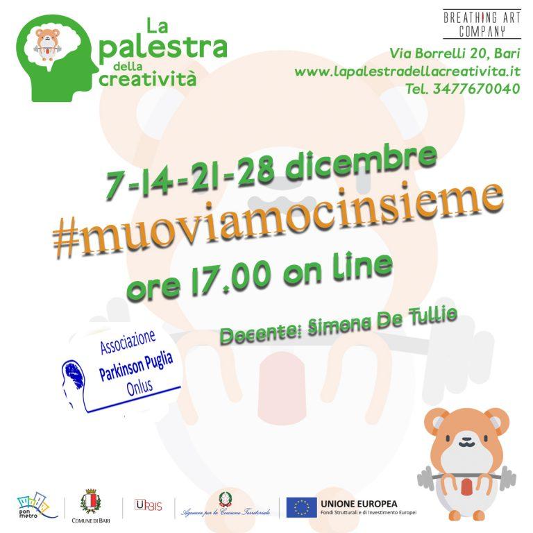 Muoviamocinsieme con l'associazione Parkinson Puglia