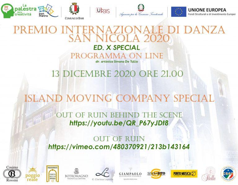 Urbis supporta il Premio Internazionale di Danza San Nicola